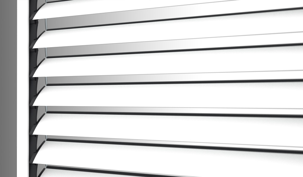 Alika the roller shutter with adjustable slats